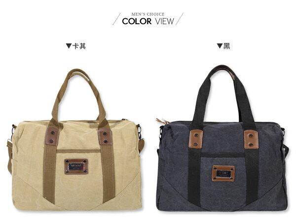☆BOY-2☆【NQA5082】手提包 機能兩用手提帆布側背包 1