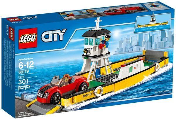 ~LEGO 樂高積木~CITY 城市系列 ~ 渡船 LT~60119