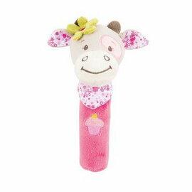 Nattou - 絨毛造型柱型bibi玩偶/艾莉婕