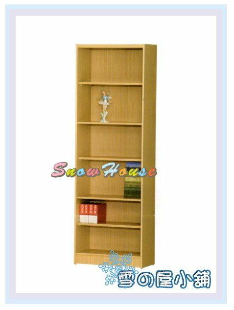 ╭☆雪之屋居家生活館☆╯AA554-08 B-07白橡木書櫃(美背式)/置物櫃/收納櫃/展示櫃/附活動隔板3片