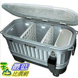[COSCO代購 如果沒搶到鄭重道歉] Igloo 美國製118公升派對冰桶(含LED燈) W110479