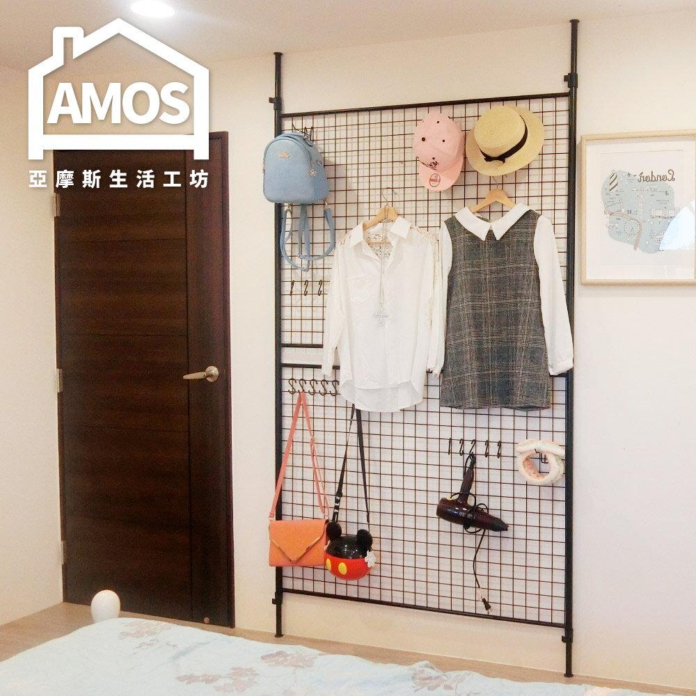 置物架 流理台架 廚房架【TAW018】120*90頂天立地網片置物架 Amos 0
