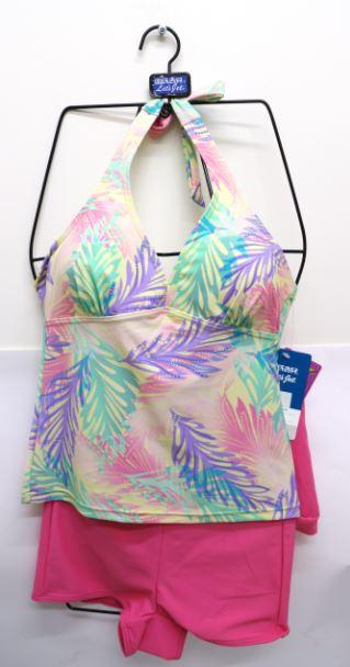 [陽光樂活] Let's jet 雷氏吉兒 二件式泳衣 A1710-07(出清特價)