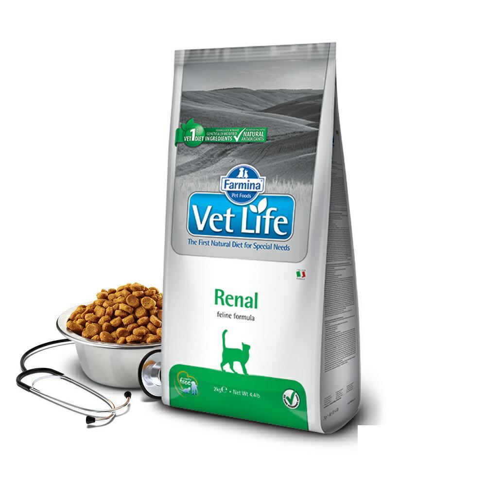 法米納 天然處方-貓用腎臟配方 2kg【VCR-5020】可超取(B312A05)