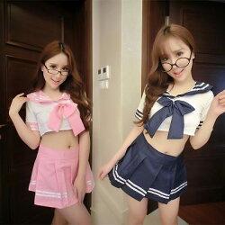 日本高校生學生制服 情趣內衣 cosplay 角色扮演服