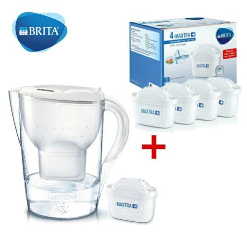 德國Brita濾水壺3.5L+濾心5入