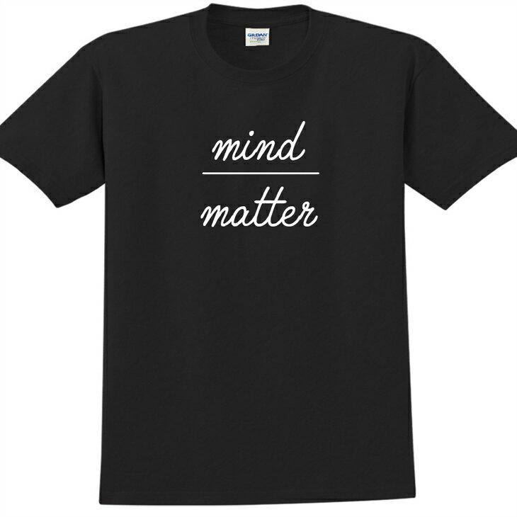 新創設計師- T恤:【mind over matter】修身短袖 T-shirt ( 黑 ) 850 Collections