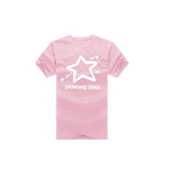 ◆快速出貨◆shining star塗鴉星.美式設計.T恤.班服.最佳情侶裝.純棉短T.MIT台灣製.短T【YC270】可單買.艾咪E舖 3