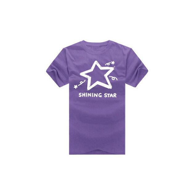 ◆快速出貨◆shining star塗鴉星.美式設計.T恤.班服.最佳情侶裝.純棉短T.MIT台灣製.短T【YC270】可單買.艾咪E舖 6