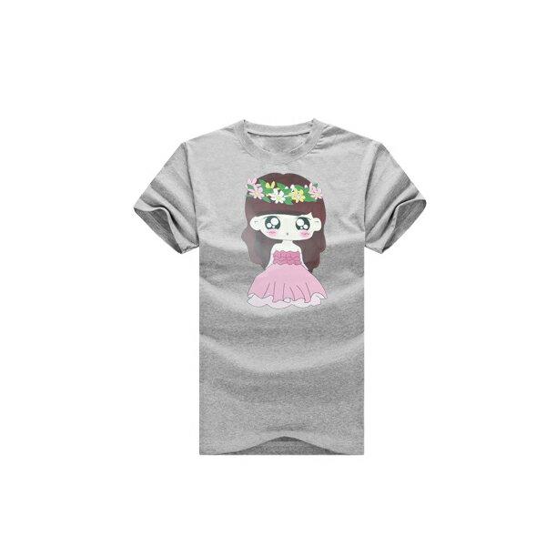 T恤 情侶裝 客製化 MIT台灣製純棉短T 班服◆快速出貨◆獨家配對情侶裝.新娘小娃&捧花新郎【YC287】可單買.艾咪E舖 2