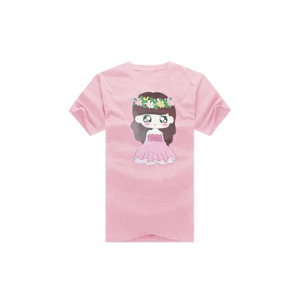 T恤 情侶裝 客製化 MIT台灣製純棉短T 班服◆快速出貨◆獨家配對情侶裝.新娘小娃&捧花新郎【YC287】可單買.艾咪E舖 3
