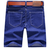 短褲.牛仔短褲.休閒褲.牛仔樣式五分褲【M55528】艾咪E舖.班服.情侶短褲.28-38 2