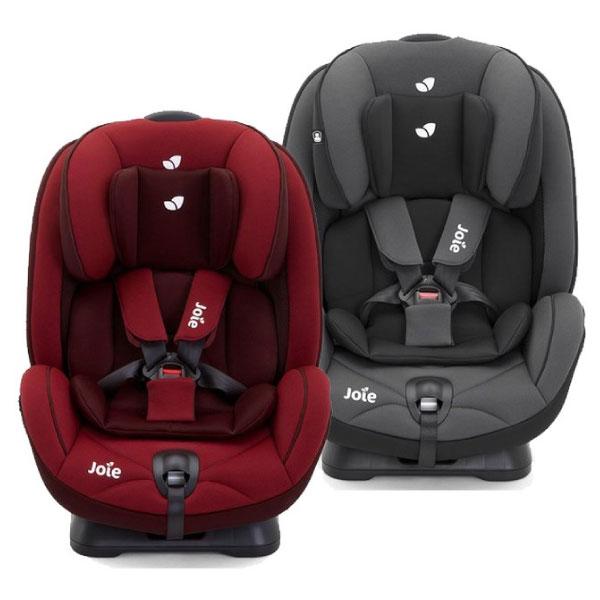 【加贈副食品儲存盒】奇哥 joie stages 0-7歲成長型安全座椅 / 汽座(黑 / 紅) 0