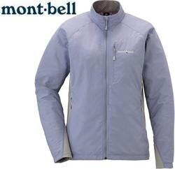 Mont-Bell 風衣外套/登山外套 防潑水保暖防風 Light Shell 女款 1106558 SKY紫