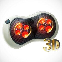 MUVA SA1603 3D多點溫感揉捏枕 按摩器