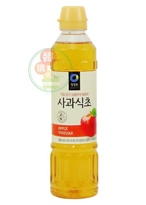 ~韓購網~韓國蘋果醋500ml~涼拌與烹煮 ,增進料理風味~韓國 韓國食品醋食用醋韓國 AA00012