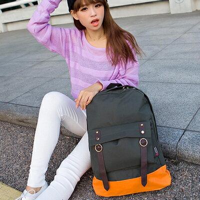 日韓新款流行時尚後背包書包旅行包學生中性大容量背包
