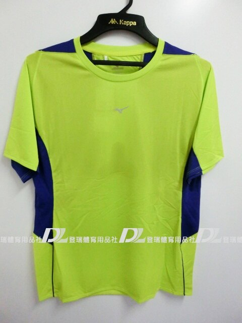 【登瑞體育】MIZUNO 男生排汗短袖上衣 - J2TA550236