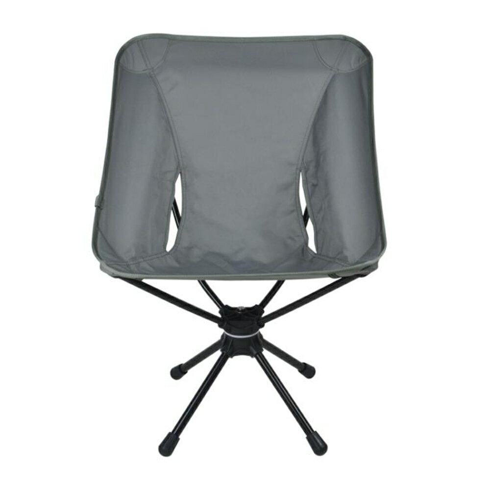 戶外折疊椅 戶外折疊椅360度可旋轉休閒椅輕便攜釣魚椅鋁合金露營旋轉椅JD【韓國時尚週】 1