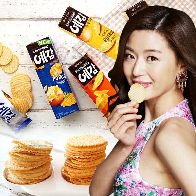 韓國新款好麗友ORION預感烘焙洋芋片80g 原味 起司 香蒜奶油 [KR8801117]千御國際