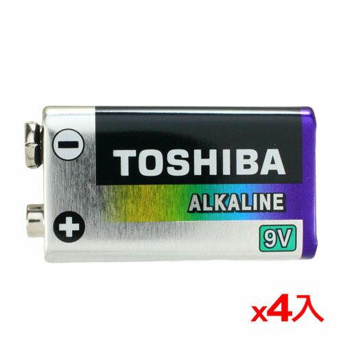 <br/><br/>  ★4件超值組★東芝 鹼性電池9V 1入【愛買】<br/><br/>