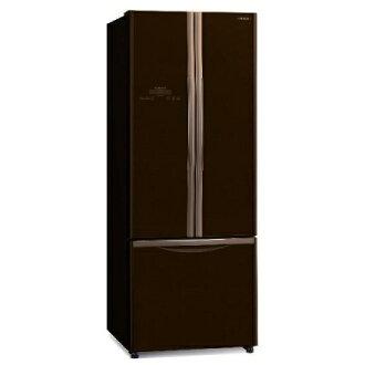 HITACHI 日立 RG470(GBW) 三門琉璃冰箱 (483L,琉璃棕)