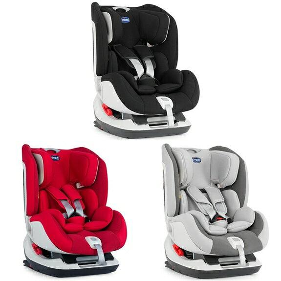 chicco Seat up 012 Isofix 安全汽座  夜幕黑  自信紅  煙燻灰