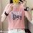 F-DNA★PARIS鐵塔印圖圓領短袖上衣T恤(3色-M-2XL)【ET12699】 2