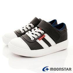 日本月星頂級童鞋 2E靜態防水運動款 SGJ5076黑(中大童段)
