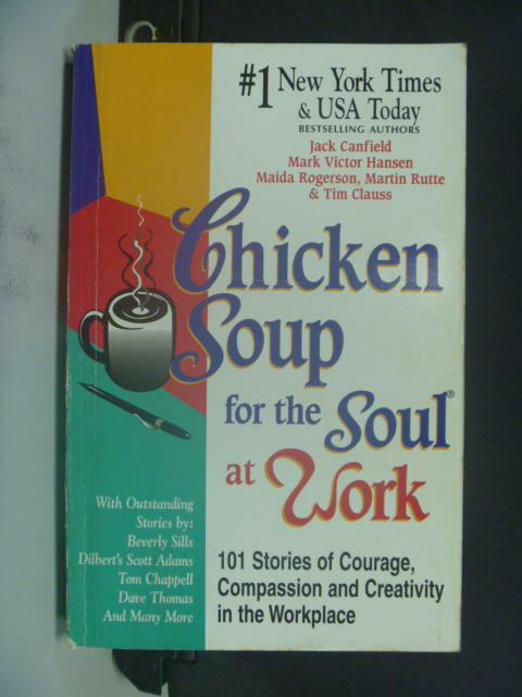 【書寶二手書T9/勵志_GHV】Chicken Soup for the Soul at Work