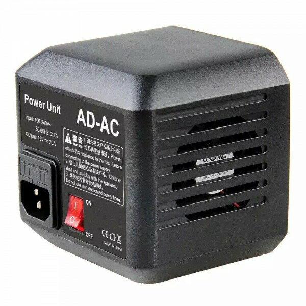 ◎相機專家◎ Godox 神牛 AD600 AC 交流電變壓供電器 AD600系列外拍燈專用 AD轉DC 變壓器 公司貨