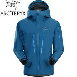 Arcteryx 始祖鳥Alpha SV 登山雨衣/風雨衣/Gore Tex/2/登山健行 頂級款 男 18082 鸚鵡藍