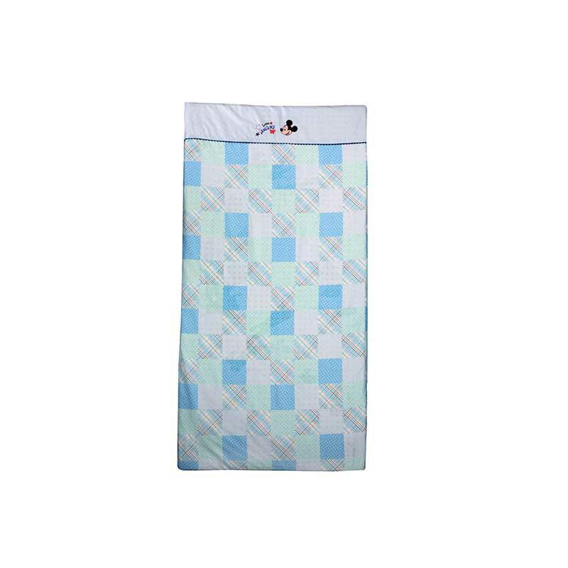 【ViVibaby】迪士尼米奇/米妮格紋乳膠床墊 二色