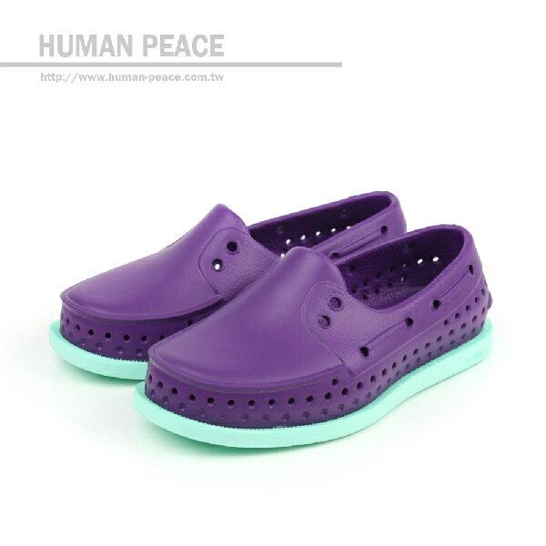 native HOWARD CHILD 洞洞鞋 紫 小童 no370