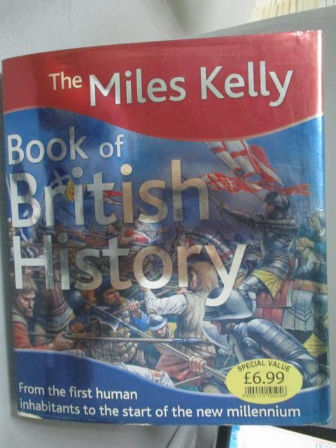 ~書寶 書T1/歷史_YFZ~Miles Kelly Book of British Hi
