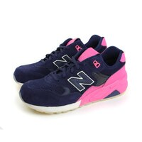 New Balance 美國慢跑鞋/跑步鞋推薦NEW BALANCE 580系列 休閒鞋 深藍 女款 no925