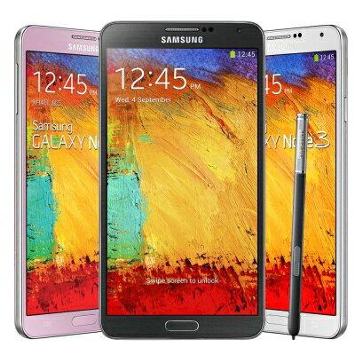 SAMSUNG福利品GALAXYNOTE3N900516G智慧型手機4G非全頻,邊框有傷