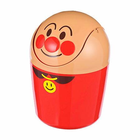日本直送 Anpanman 麵包超人 可愛造型 小型掀蓋垃圾桶