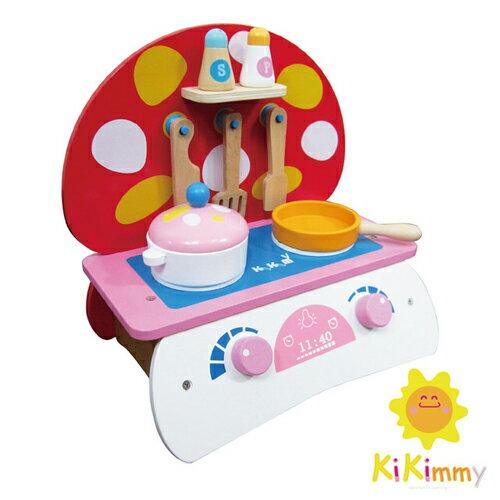 德芳保健藥妝:Kikimmy蘑菇造型廚具組K312【德芳保健藥妝】