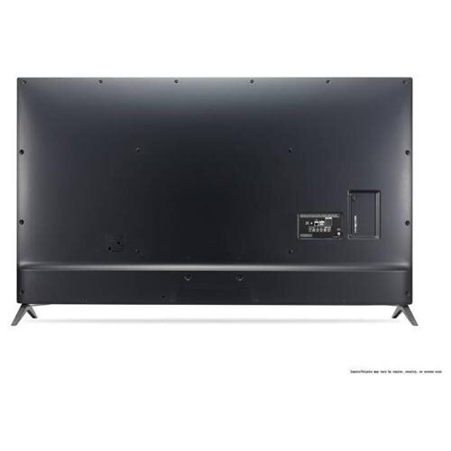 """LG UJ6300 55UJ6300 55"""" 2160p LED-LCD TV - 16:9 - 4K UHDTV - Black - ATSC - 178 / 178 - 3840 x 2160 - DTS HD, ULTRA Surround - 20 W RMS - LED Backlight - Smart TV - 3 x HDMI - USB - Ethernet - Wireless LAN - PC Streaming - Internet Access 1"""