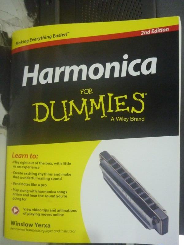 ~書寶 書T4/音樂_ZDD~Harmonica For Dummies_Winslow