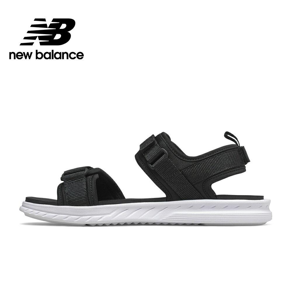 【New Balance】涼拖鞋_中性_黑色_SDL600BK-D楦