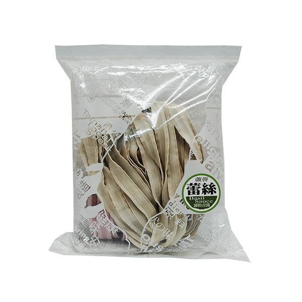 村家味 手工麵 蕾絲麵方便包 羅勒青醬 (綠藻 紫地瓜麵片 ) 素食可食 【美十樂藥妝保健】