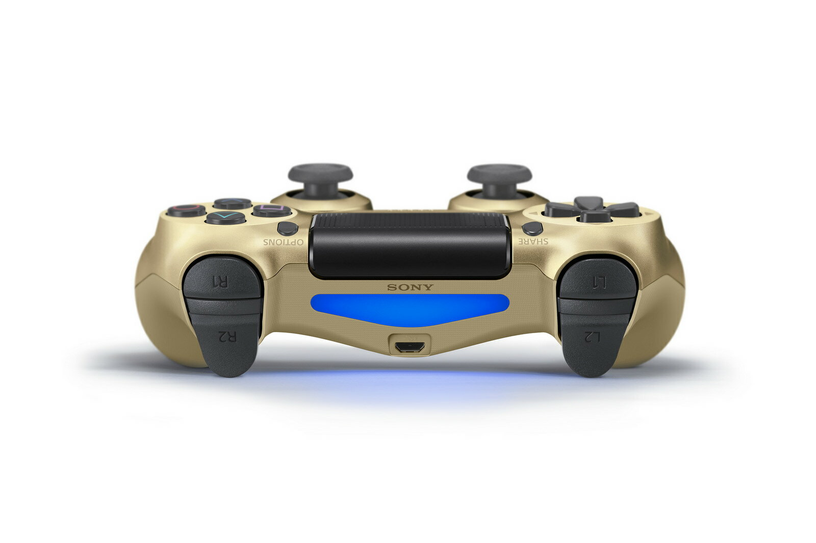 Sony PlayStation 4 PS4 Dual shock Wireless / USB Control - Gold 2