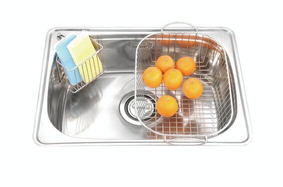 廚房水槽 35度斜邊歐化單槽(亮面) JT-1620