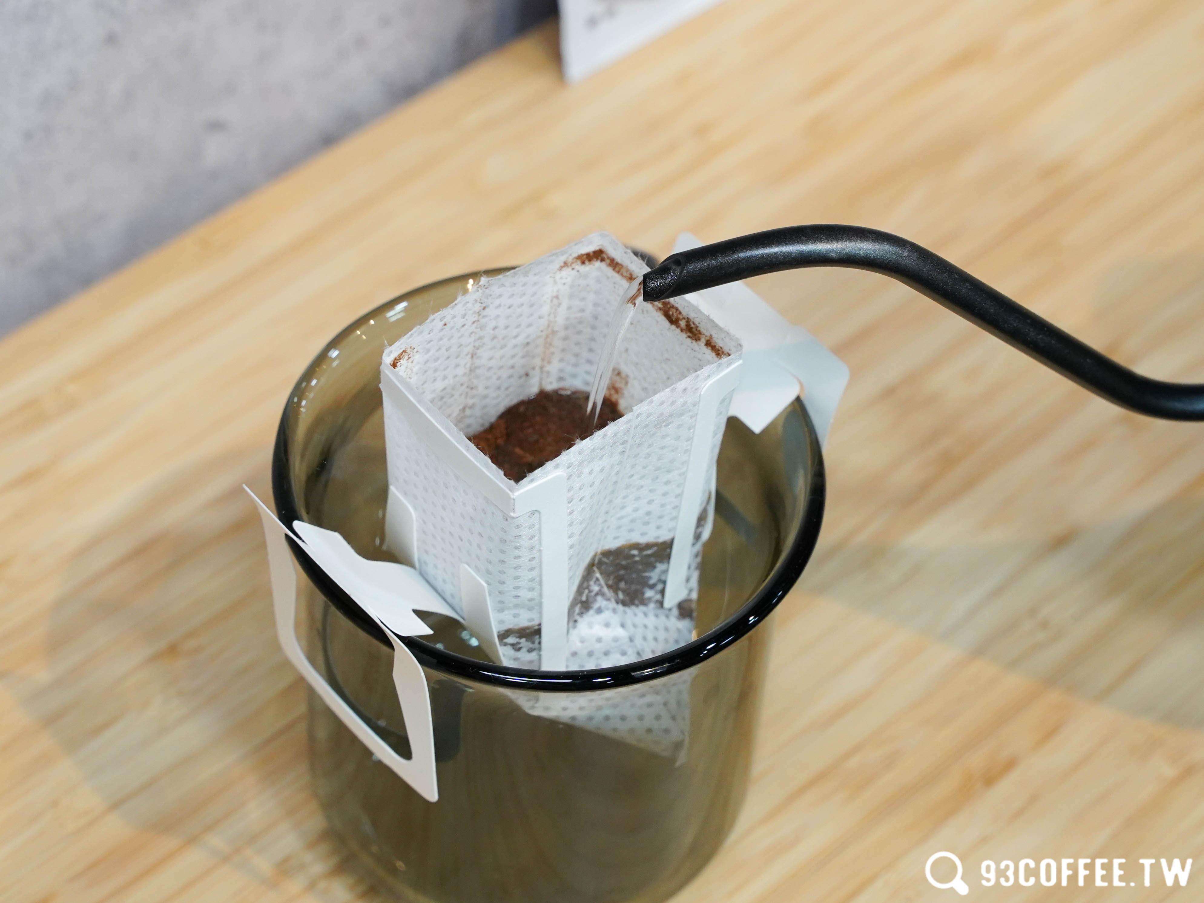 93 coffee 咖啡掛耳包 100%研磨咖啡 濾掛咖啡 掛耳包 濾掛包 淺中焙『93coffeewholesale』