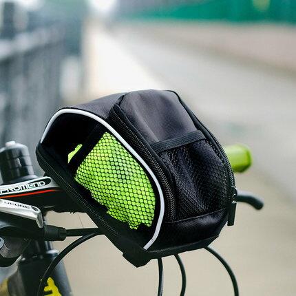 自行車頭包 折疊自行車車前包車把包山地車掛包單車頭包騎行裝備配件送防雨罩『MY3917』