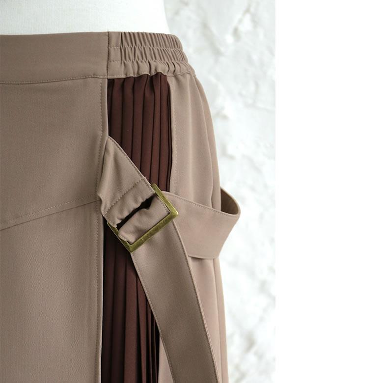 日本osharewalker  /  n'Or 個性異材拼接半身裙 長裙  /  sen0097  /  日本必買 日本樂天代購  /  件件含運 3