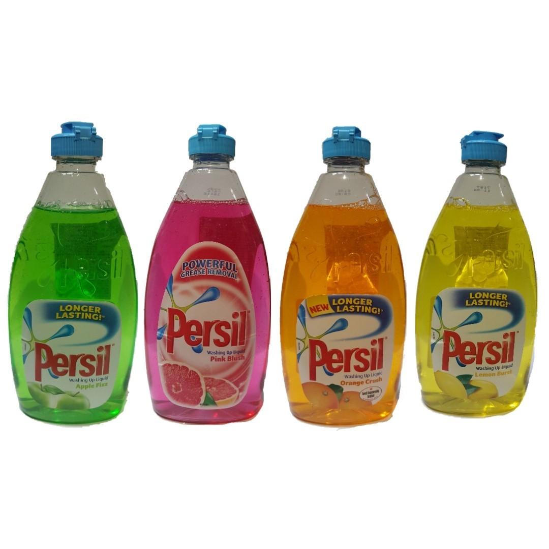 英國 Persil 蘋果 檸檬 葡萄柚 橘子香味 洗碗精 高效能 500ml