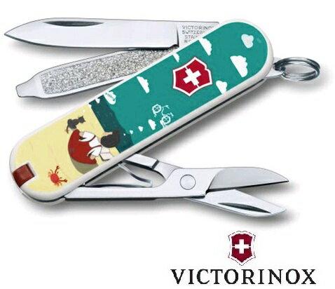 【【蘋果戶外】】victorinox 0.6223.L1606 【我的夢想/7功能/58mm】CLASSIC 2016限量版 七用瑞士刀工具組 瑞士維氏 戶外救急工具刀